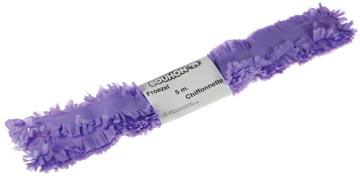 Bouhon froezelpapier paars