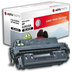 HP 10A compatible toner AgfaPhoto Q2610A zwart