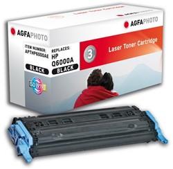 HP 124A compatible toner AgfaPhoto Q6000A zwart