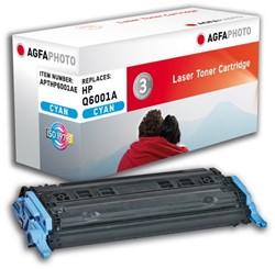 HP 124A compatible toner AgfaPhoto Q6001A cyaan