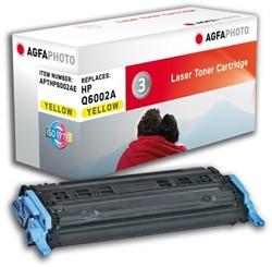 HP 124A compatible toner AgfaPhoto Q6002A geel
