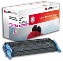 HP 124A compatible toner AgfaPhoto Q6003A magenta