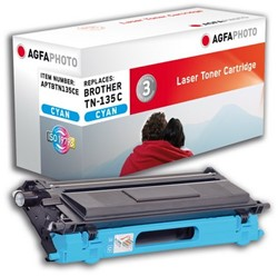 Brother TN-135C compatible toner cyaan AgfaPhoto