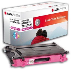 Brother TN-135M compatible toner magenta AgfaPhoto