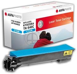 AGFA Photo toner Kyocera TK-540C Kyocera FS-C5100DN 4000pages cyan