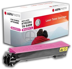AGFA Photo toner Kyocera TK-540M Kyocera FS-C5100DN  4000pages magenta