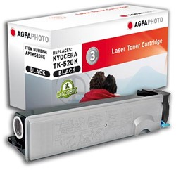 AGFA Photo toner Kyocera TK-520BK Kyocera FS-C5015N  6000pages black