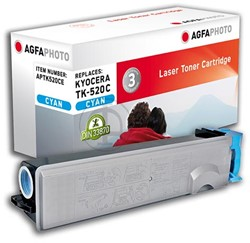 AGFA Photo toner Kyocera TK-520C Kyocera FS-C5015N 4000pages cyan