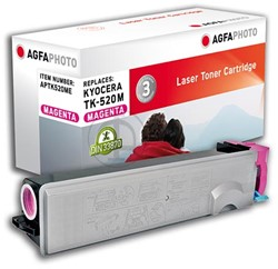 AGFA Photo toner Kyocera TK-520M Kyocera FS-C5015N 4000pages magenta