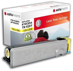 AGFA Photo toner Kyocera TK-520Y Kyocera FS-C5015N 4000pages yellow