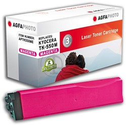 AGFA Photo toner Kyocera TK-550M Kyocera FS-C5200DN  6000pages magenta