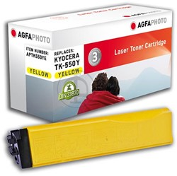 AGFA Photo toner Kyocera TK-550Y Kyocera FS-C5200DN 6000pages yellow