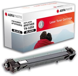 Brother TN-1050 compatible toner zwart AgfaPhoto