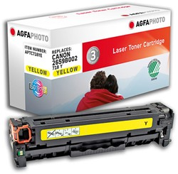 APTC718YE AP CAN. LBP7200 CARTR YEL 2659B002 / 718Y 3400pages