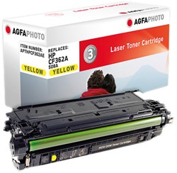 APTHPCF362AE AP HP LJM552 CARTR YEL CF362A/508A 5000pages
