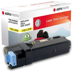 APTD11037E AP DELL 2150 TONER YEL 59311037 2500pages