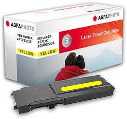 APTX2231E AP XER. PH6600 TONER YEL 106R02231 6000pages