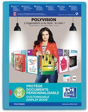 Elba showalbum Polyvision 60 tassen, blauw