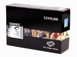 Lexmark 12A8302 toner zwart 30.000 afdrukken