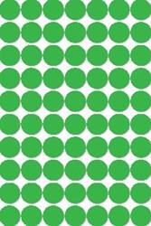 Agipa ronde etiketten 19mm groen
