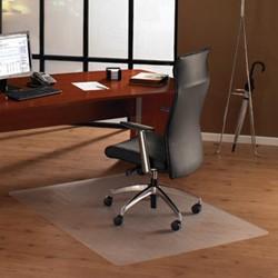 Bureaustoelmat 120x150cm voor harde vloer