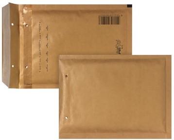 Bong luchtkussenenveloppen 150 x 215 mm met stripsluiting bruin doos van 100 stuks