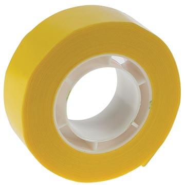 Plakband geel 19mm x 33m