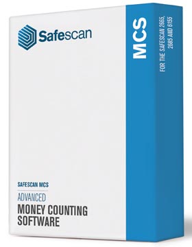 Safescan software MCS, voor biljettelmachine 6155-2665-2680-2685