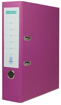 Class'ex Eco ordner violet 8cm