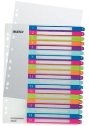 Leitz personaliseerbare tabbladen WOW, 1-20 tabs