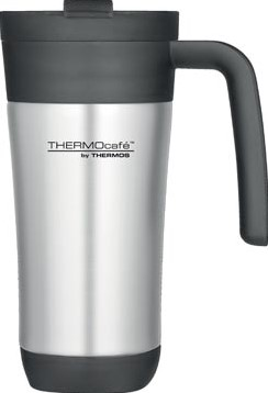 Thermos reisbeker Thermocafé in inox inhoud 425 ml