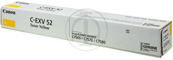 1001C002 CANON IRC7565I TONER YELLOW CEXV52 66.500pages