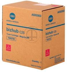 A0X5353 KON BIZHUB C25 TON MAG 4500pages/5%cov TNP27M magenta