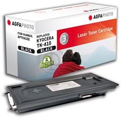 AGFA Photo toner Kyocera TK-410 Kyocera KM1620  15.000pages black