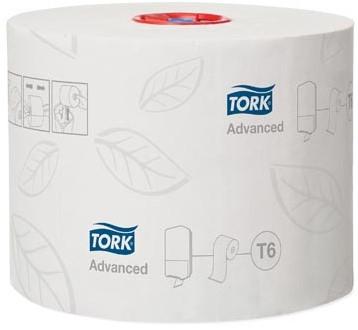 Tork toiletpapier Mid-Size 2-laags 100 meter systeem T6, pak van 27 rollen
