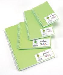 Canson schetsboek Notes, ft A6, groen