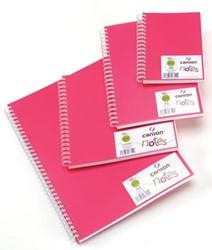 Canson schetsboek Notes, ft A6, roze