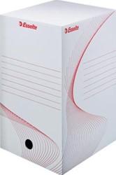 Esselte archiefdoos Boxy, rug van 20 cm, wit