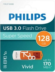 Philips Vivid USB 3.0 stick, 128 GB