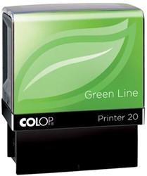 Colop tekststempel Green Line Printer Printer 20