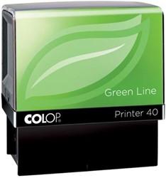 Colop tekststempel Green Line Printer Printer 40