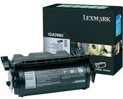 Lexmark 12A7460 return program toner zwart 5.000 afdrukken