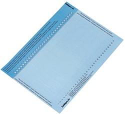 Elba etiketten voor hangmappen voor kasten nr. 9, blauw
