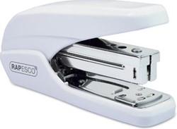 Rapesco nietmachine X5-25ps met eenvoudige bediening, wit, op blister