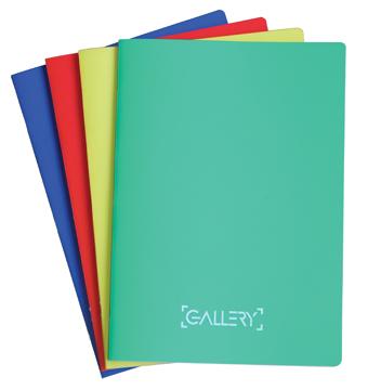 Gallery Schrift ft 21 x 29,7 cm (A4), 72 bladzijden, gelijnd