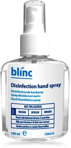 Desinfectie spray geparfumeerd 70% alcohol Blinc 100ml