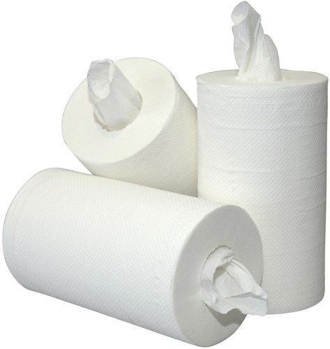 Poetsrol Blanco Mini 2L 20cmx60m 12rol