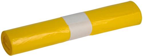 Afvalzak Powersterko T25 120liter geel