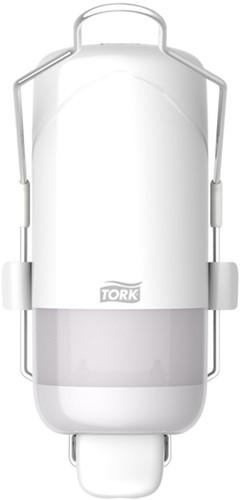 Dispenser Tork S1 560100 zeepdispenser met armbeugel wit