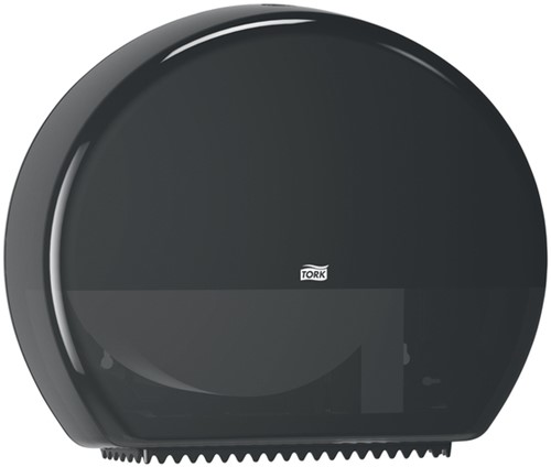 Dispenser Tork T1 554008 jumbo toiletpapierdispenser zwart